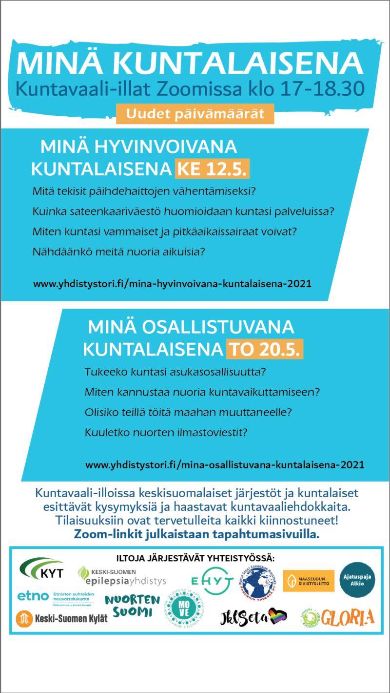 kuntavaali illat keski-suomessa